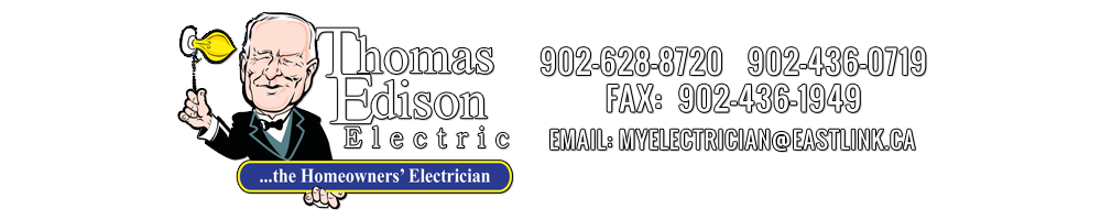 Summerside Electricians - Thomas Edison Electric Logo